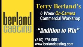 Berland Casting Commercial Technique Workshop